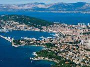 Split stad