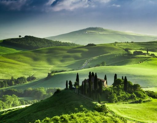 Toscane natuur