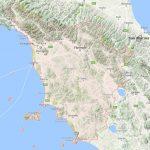 Italie Toscane kaart
