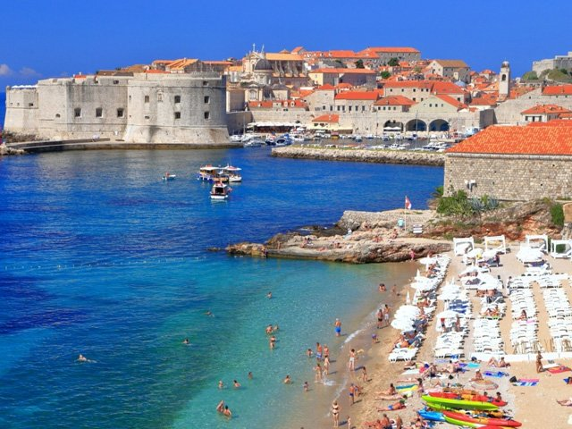 Dubrovnik strand