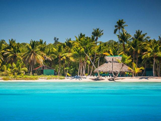 Dominicaanse republiek strand