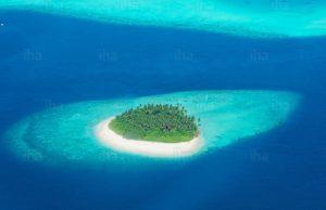Malediven eiland