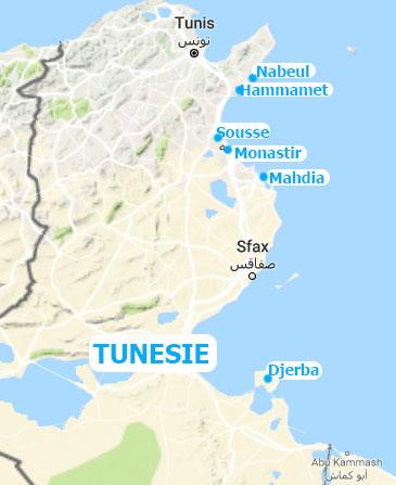 Tunesie vakantie bestemmingen