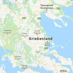 Griekenland landkaart