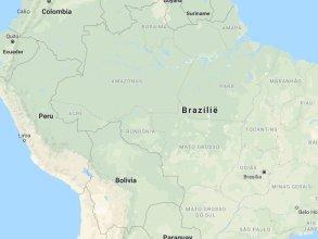 Brazilie kaart