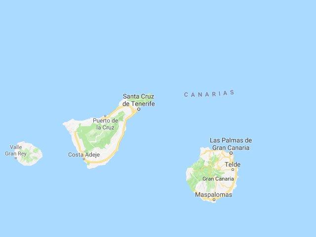 Canarische eilanden kaart