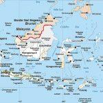 Indonesie kaart