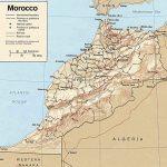 Marokko map