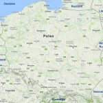 Polen kaart