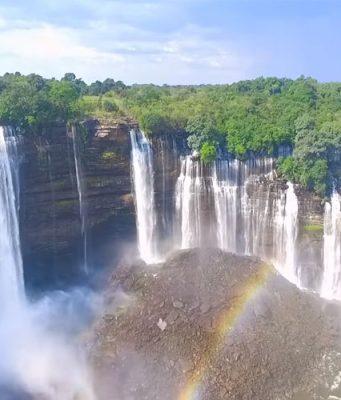 Angola - Kalandula watervallen