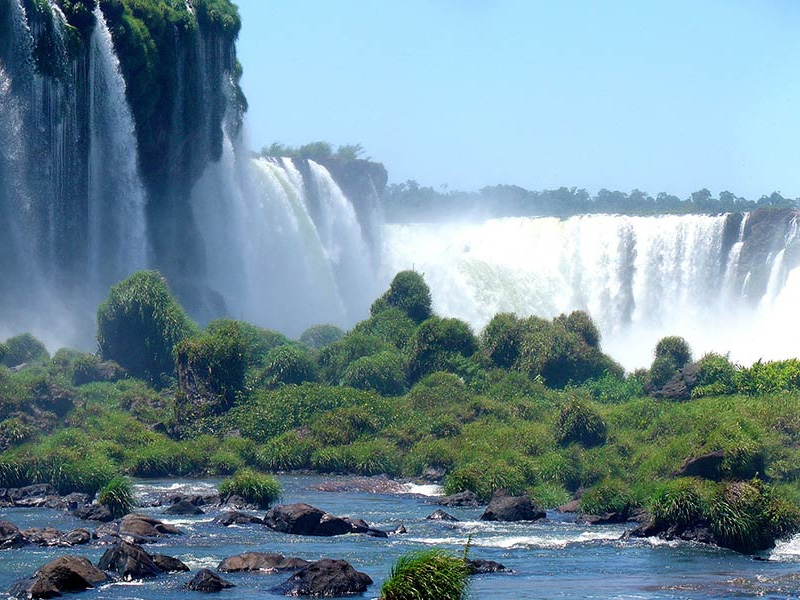 Brazilie waterval