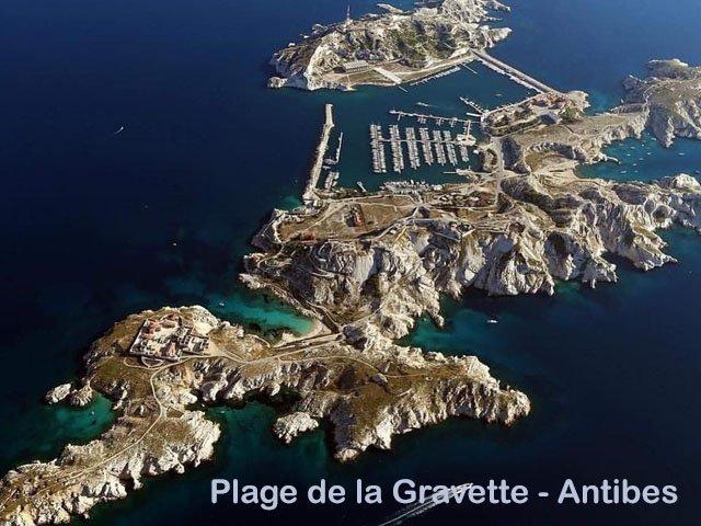 Beste Cote d' Azur stranden - Plage de la Gravette - Antibes