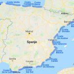 De kusten van Spanje
