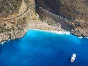 Turkije Kaputas strand