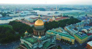 Vakantie in St. Petersburg