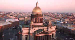 Reizen naar St. Petersburg
