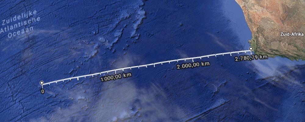 Tristan da Cunha_Zuid Afrika