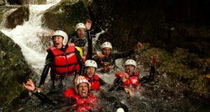 Canyoning bij het Gardameer